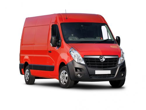 vauxhall movano 3500 l4 diesel rwd 2.3 turbo d 130ps h2 van 2019 front three quarter