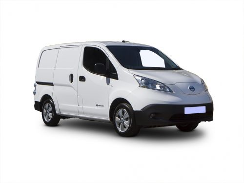 nissan e-nv200 electric 80kw acenta van auto 40kwh 2018 front three quarter