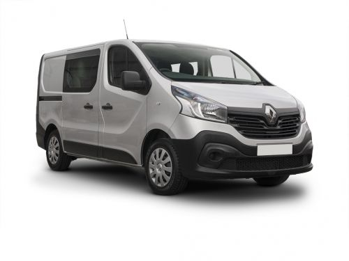 renault trafic swb diesel sl29 energy dci 125 business+ crew van 2016 front three quarter