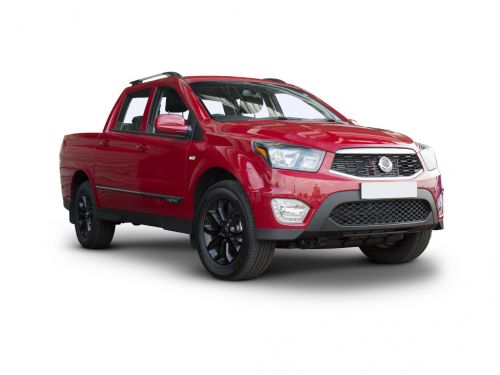 ssangyong musso diesel pick up se 4dr 4wd 2016 front three quarter