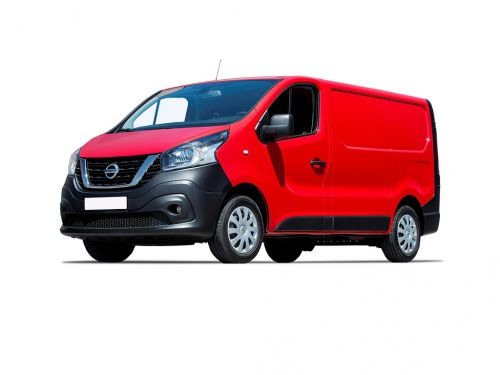 nissan nv300 2.7t l1 diesel 1.6 dci 125ps h1 acenta van 2016 front three quarter