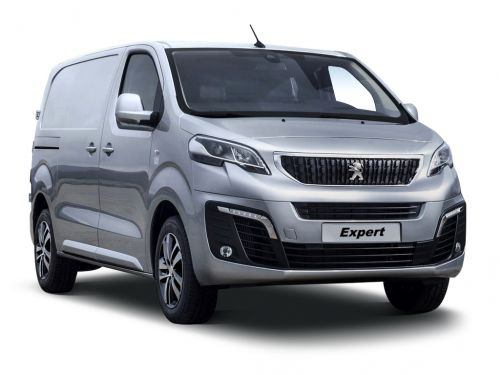 peugeot e-expert standard 1000 100kw 50kwh professional van auto 2020 front three quarter