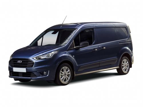 ford transit connect 210 l2 diesel 1.5 ecoblue 100ps trend van 2018 front three quarter