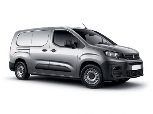 peugeot partner standard diesel 1000 1.5 bluehdi 130 asphalt van eat8 2018 front three quarter