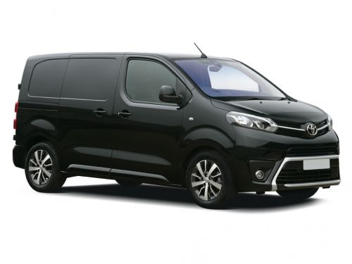 toyota proace medium diesel 2.0d 120 icon van 2018 front three quarter