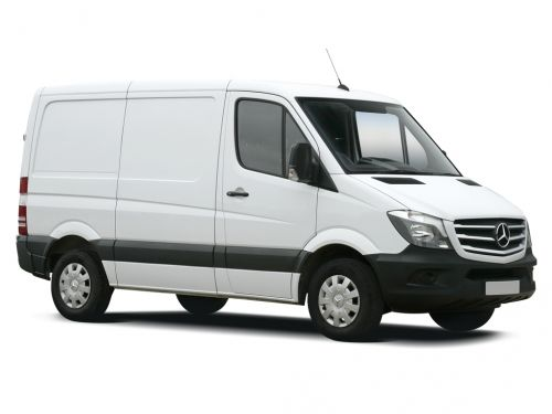 mercedes-benz sprinter 216cdi short diesel 3.0t blueefficiency high roof van 7g-tronic 2013 front three quarter