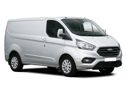 ford transit custom 300 l2 diesel fwd 2.0 ecoblue hybrid 130ps high roof leader van 2019 front three quarter