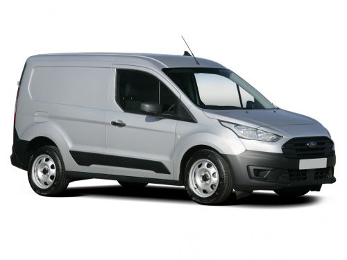 ford transit connect 230 l2 diesel 1.5 ecoblue 100ps trend d/cab van 2018 front three quarter