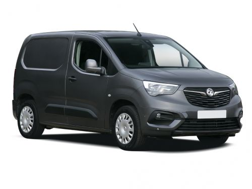 vauxhall combo cargo l1 petrol 2000 1.2 turbo 110ps h1 edition van 2019 front three quarter