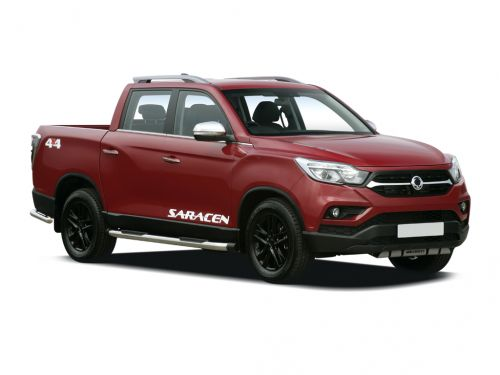 ssangyong musso diesel double cab pick up saracen 4dr awd 2018 front three quarter