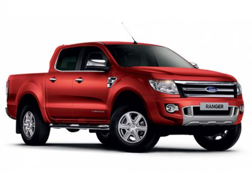 lease the ford ranger diesel pick up double cab limited 2. Black Bedroom Furniture Sets. Home Design Ideas