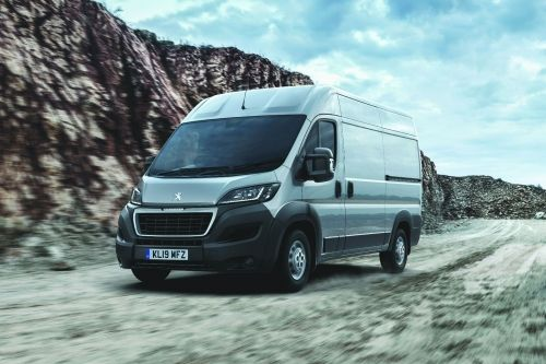 PEUGEOT BOXER 335 L3 DIESEL 2.2 BlueHDi H2 S Window Van 140ps view 1