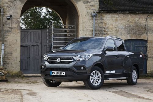 SSANGYONG MUSSO DIESEL Double Cab Pick Up Rebel 4dr Auto AWD view 8