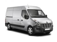 renault master lwb diesel fwd lm35dci 130 business+ medium roof van 2016 front three quarter