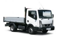 nissan nt400 cabstar mwb diesel 35.13 dci double cab dropside 2016 front three quarter