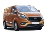 ford transit custom 320 l1 diesel fwd 2.0 tdci 105ps low roof kombi van 2018 front three quarter