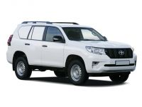 toyota land cruiser lwb diesel 2.8d utility commercial 2018 front three quarter