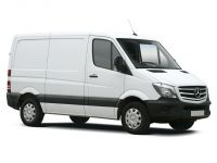 mercedes-benz sprinter 316cdi short diesel 3.5t blueefficiency crew cab 7g-tronic 2013 front three quarter
