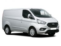 ford transit custom 300 l2 diesel fwd 2.0 ecoblue hybrid 130ps low roof leader van 2019 front three quarter