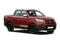 ssangyong musso diesel double cab pick up rebel 4dr auto awd 2018 front three quarter
